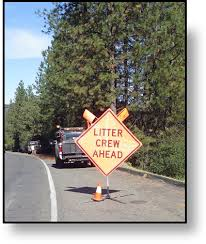 litter crew